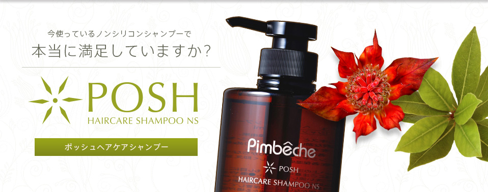 �ݥå��� �إ����������ס�NS��Posh Haircare shampoo NS